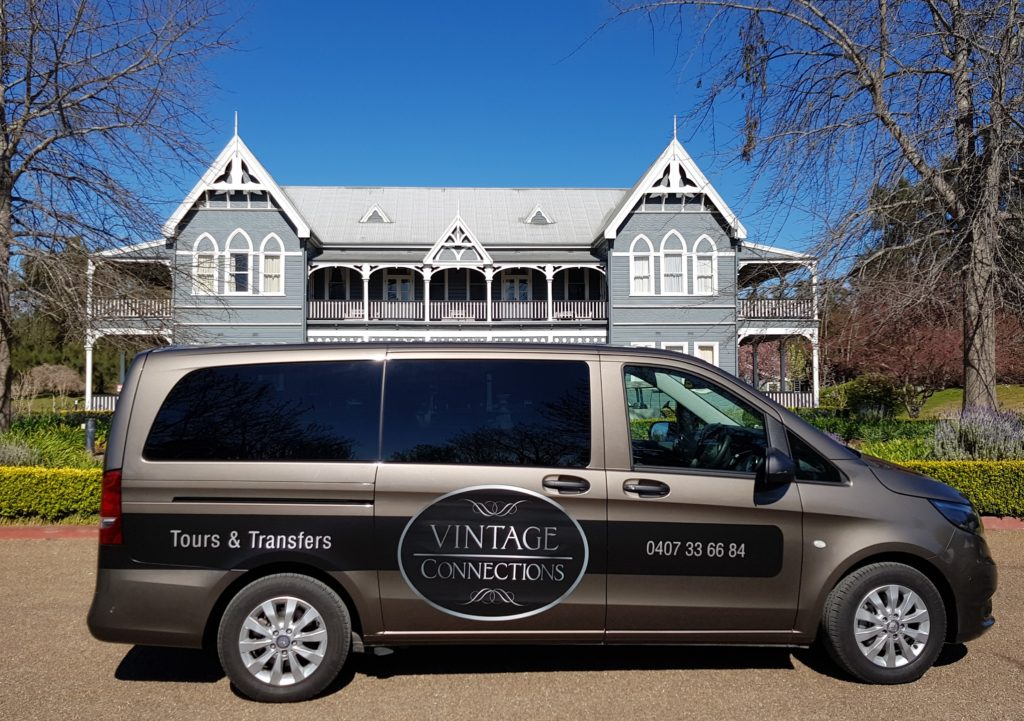 "VIntage Connections at ""The Convent"" Pokolbin, Hunter Valley. Luxury accommodation."